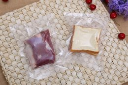 Bolsa de vácuo para embalagem on-line-DHL SF_EXPRESS Embalagem de Alimentos Saco Claro Embalagem A Vácuo Bolsas Selo Térmico Saco De Embalagem De Plástico saco de embalagem de armazenamento Frio