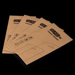 Caja de embalaje de papel vacío ultra fino universal para el paquete al por menor de cristal moderado del iPhone 8 7 6S Plus desde fabricantes