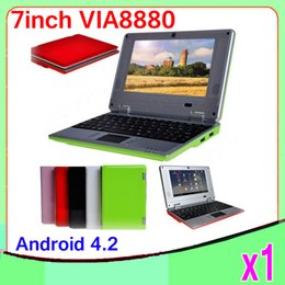 """Wholesale Android Netbook 7inch - 1pcs New 7"""" netbook Android 4.2 Operation System Dual core WIFI 7inch Laptop,Pocket Notebook,Mini Computer ZY-BJ-1"""