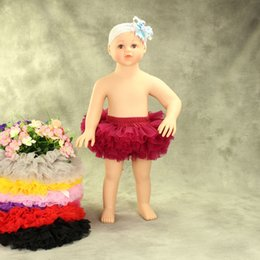 Wholesale Baby Photography Clothing - Baby boutique clothing Tutu Skirt Soft Tulle tutu Dress 11 colors Photography Newborn Cute Multi layers Studio Prop 2017