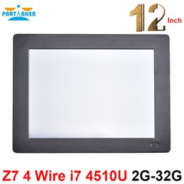 Wholesale One Touch Windows - Partaker Z7 Intel Dual Core I7 4510U Touch Screen All In One PC with 2G RAM 32G SSD