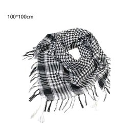 Wholesale charms for scarfs - Wholesale- Charming Arab Shemagh Tactical Palestine Light Polyester Scarf Shawl For Men Fashion Plaid Printed Men Scarf Wraps