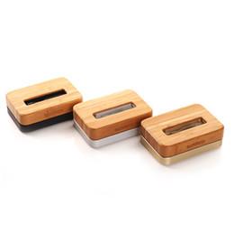 Hölzerne wiegen online-Neue Original SAMDI Holz Aluminium Ladegerät Dock Cradle für iPhone 6 5S 5 Holz Telefon Ständer Handyhalter für iPhone