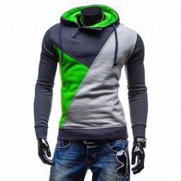 Wholesale Sweatshirt Pocket Pattern - 2016 Hoodies Men Sudaderas Hombre Hip Hop Mens Patch Hooded Jacket Sweatshirt Sport Suit Slim Fit Men Hoody at CNSTREET