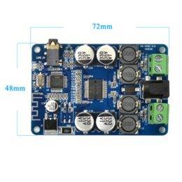 Wholesale Diy Amplifier Channel - Aiyima TDA7492P Bluetooth Receiver Amplifier Audio Board 25WX25W Speakers Modified Music Mini Amplifiers Diy Dual channel