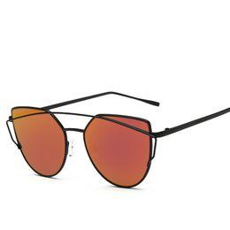 Wholesale Newest Design Sunglasses - 2017 Newest Vintage Brand Design Polarized Cat Eye Sunglasses Women Polaroid Coating Lens Sun Glasses Hot Selling With Box UV400