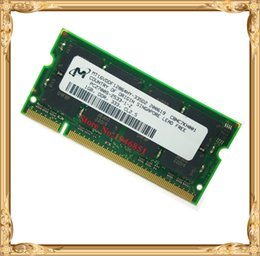 Wholesale Ram 1g Ddr - Micron laptop memory DDR 1GB 333MHz PC-2700 Notebook RAM 1G so-dimm 333 Lifetime warranty