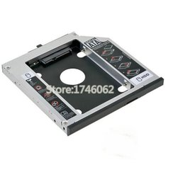 "Wholesale Cheap Wholesale Cds - Wholesale- Cheap 2nd HDD SSD Caddy Second Hard Disk Enclosure CD DVD Optical Drive Bay for Asus G75 G74 G73 Series 17.3"" Gaming Notebook PC"
