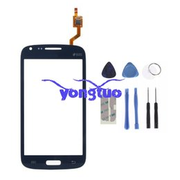 Wholesale Galaxy I8262 - Brand New Touch Screen Digitizer For Samsung Galaxy Core I8260 I8262 LCD Front Glass Sensor Panel For Samsung Galaxy Core Replacement