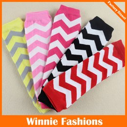 Wholesale Girls Leggings Stripe - Children Leg Warmer Baby Leg Warmers Winter Warmers Stripe Mix color Newborn Photography Props children leggings A9870