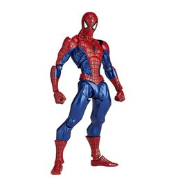 Wholesale Spiderman Models Kids - Zxz 1Pcs  Set Magic Spider -Man Amazing Spiderman Avengers Action Figures Hot Toys Super Hero Marvel Figma Pvc 16Cm Model Gifts