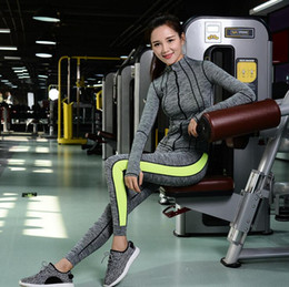 Wholesale Ladies Body Suits - Autumn and winter new yoga clothes three-piece set of women's body breathable ladies jacket trousers running fitness suit