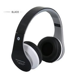 Canada Ecouteurs stéréo sans fil Bluetooth Casque stéréo Bandeau Casque Carte basse Musique de sport DJ Radio FM cheap radio dj Offre