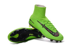 Wholesale Mens Boots Cheapest - Cheapest!!! Cr7 Football Boots Soccer Shoes Mercurial Superfly Mens Sneakers Soccer Cleats Soccer Boots Sports Shoes Football Shoes