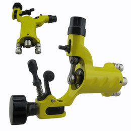 Wholesale Dragonfly Rotary Blue - Yellow Red Black Blue Color Dragonfly Tattoo Machine Aluminum Silent Tattoo Gun for Complete Tattoo kit