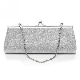 Wholesale Party Sequins Glitter Handbag - New Hot Cheap Ladies Clutch Purse Chain Handbags Women Evening Bag Bride Wedding Party Purse Clutch bolsas mujer