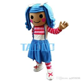 Wholesale Lalaloopsy Adult Costumes - Best lalaloopsy girl Mascot Costume Cartoon Fancy Dress Free Shipping Adult Size