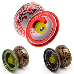 Wholesale high performance alloy - High performance alloy mini-yo hypervelocity triaxial childcare yo-yo toy Children Gift Yoyo Toy