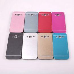 Wholesale Galaxy S3 Back Cover Metal - 2016 For IPhone 6 6plus 6S 5SE S7 S7edge Metal Plastic Motomo Hard Back Case Cover For Samsung Galaxy S3 S4 S5 Opp Bag