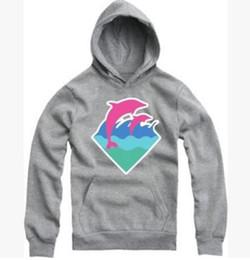 2019 sudaderas rosas delfines Marca Hip Hop Hombres y Mujeres Pink Dolphin Hoodies Hedging Sports Thick Cotton Hoody Pink Dolphin Hombres Sudaderas Envío gratis sudaderas rosas delfines baratos