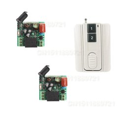 Wholesale Rf 315mhz - AC 220V 1channel 10A rf wireless remote control switch system Receiver&Transmitter 315MHZ 433 MHZ