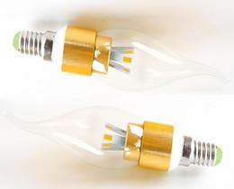 Wholesale Decaration Lights - Home Decaration Lights Source Led Corn Candle Light Bulb E14 SMD5730 Energy Saving Lamp Lighting LED Crystal Lamp Chandelier Bulb 3W