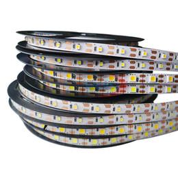 Wholesale Home Led Rgb Strip - Hot sale 5M 300Leds waterproof RGB Led Strip Light 5630 3528 5050 DC12V 60Leds M Fiexble Light Led Ribbon Tape Home Decoration Lamp