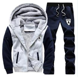 Wholesale Casual Sweat Suits For Men - Polo Winter Men Set Hoodies Sport Tracksuit For Mens Sweat Suits Sweatshirts Man Jogging Jogger Chandal Sudaderas Hombre Homme