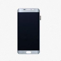 Deutschland LCD Touchscreen Digitizer Assembly Ersatz für Samsung Galaxy S6 Rand Plus weiß cheap samsung galaxy s6 lcd assembly Versorgung