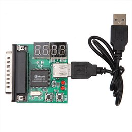 Wholesale Pc Computer Accessories - Wholesale- Hot Selling Computer Accessories PCI PC Diagnostic Card USB Post Card Motherboard Analyzer Tester for Notebook Laptop