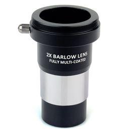 """Окулярная линза онлайн-Datyson 1.25 """" объектив 2x Barlow польностью Multi-Покрынный металл с M42x0.Камера 75 потоков соединяет интерфейс для окуляров телескопа"""