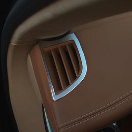 Wholesale Cayenne Porsche Wholesaler - Car styling Interior Car Styling 2pcs Dashboard air outlet sequins decorative trim for Porsche Cayenne Panamera