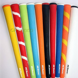 Wholesale iron quality - Wholesale New Golf Grips IOMIC Top Quality Irons Clubs Grips 10 colors 9pcs lot can Mix color Golf driver Grips Freeshipping
