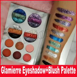 Wholesale Rainbow Eyes - New Arrival Glamierre Rainbow Your Eyes Sahdow Palette 10 Colors Glitter Matte Eyes Cosmetics eyeshadow Drop Shipping