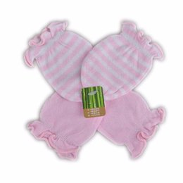 Wholesale Baby Breathing - 100% Cotton Baby Gloves Sets Newborn baby Mittens Comfortable Breathe Baby Glove Mittens for Infant Baby Accessories