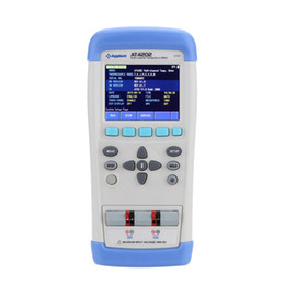 Wholesale Tft Lcd Touch Controller - Applent AT4202 -200~1300 Handheld Multi-channel Temperature Meter Tester 2 Channels TFT LCD Display Touch Screen 100-240V