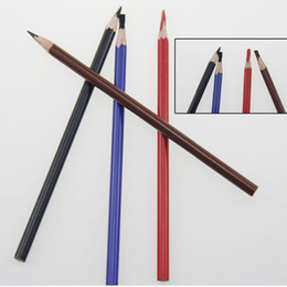Wholesale Position Design - Microblading Permanent Makeup Eyebrow Tattoo Line Design Pencil Waterproof Positioning Pen