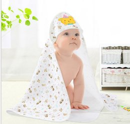 Wholesale Thin Cotton Baby Blanket Wholesale - Newborn baby hold is coated with organic cotton infant spring and thin section Baojin embroidered baby blankets spring and summer thin secti