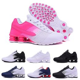 Wholesale Sports Current - 2017 fashion Deliver Shox NZ 809 Men women Running Shoes black white blue Sneakers Shox NZ Current red pink Sports Shoes Eur 36-46