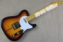 Wholesale Maple Sunburst - New Arrival Custom Shop Telecaster Guitar Merle Haggard Signature Tuff Dog Tele Sunburst Electric Guitar Gold Hardware,Flame Maple Top