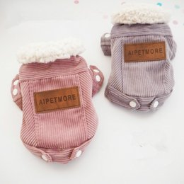 Wholesale Puppy Chihuahua - Dog Jacket Warm Coat Winter Dog Clothes Outer Garment Outfit Pet Dog Clothing Chihuahua Cat Puppy Costume Apparel