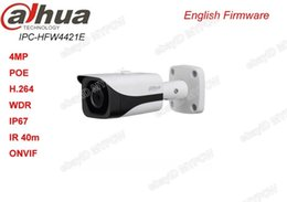 Wholesale Smallest Network Camera - Dahua DH-IPC-HFW4421E IP67 POE 4MP HD WDR Network Small 40M IR Bullet Camera