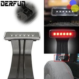 Wholesale Third Tail Light Led - Auto 15W Clear 6 LED Rear Tail 3rd Brake Light Third Brake Lamp Fit For Jeep Wrangler JK Sport Altitude Unlimited