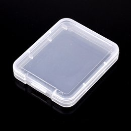 Wholesale Plastic Memory Card Case - Protection Case Card Container Memory Card Boxs CF card Tool Plastic Transparent Storage Easy To Carry IC901
