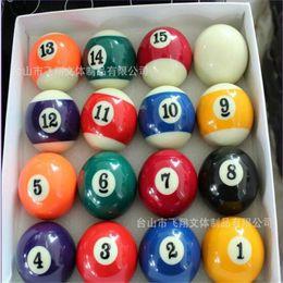 2019 amerikanische zoll Großhandels- 2 Zoll 50.8MM dauerhafte Pool Balls Amerika Tasche Pool American Billards günstig amerikanische zoll