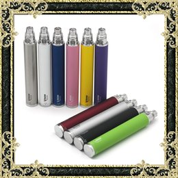Wholesale Ego Retail Box - E Cigarette Vision Spin Batteries 1100mAh 1300mAh Batteries Ego Thread Variable Voltage Battery 10 Colors With Retail Box Fast Shipping
