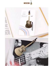 Instruments de musique de violon en Ligne-Signet Métal Doré Signets Instruments De Musique De Mariage Musique Is My Soul Trompette Violon Accordin Harpe Guitare Piano Free Ship DHL