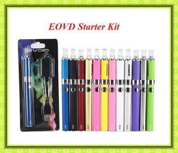 Wholesale Ego Starter Kit Bcc - EVOD BCC MT3 starter blister kit Electronic Cigarette 650 900 1100mAh EVOD battery 2.4ml MT3 atomizer clearomizer VS EGO One kit