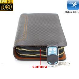 Wholesale Full Wallet - 8GB Full HD 1080P Spy DVR Hidden Camera Wallet Spy Video Recorder Motion Detection Mini DV Camcorder Spycam