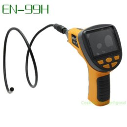 "Wholesale Small Camera Endoscope - Free Shipping!8.5mm Smaller Dia 3.5"" TFT LCD Video Inspection Endoscope Tube Camera Borescope camera attachment camera storage"